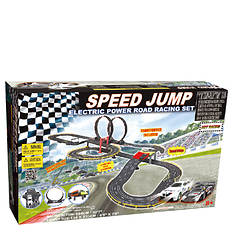 Golden Bright Electric Speed Jump Racing Set