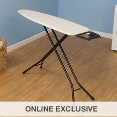 4-Leg Ironing Board with Iron Rest