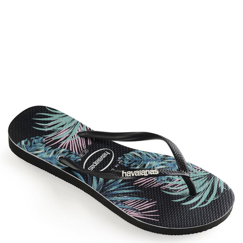 25f360436 Details about Havaianas Slim Tropical Floral Sandal Women s Sandal