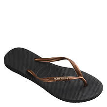 Havaianas Slim Logo Metallic Sandal (Women's)