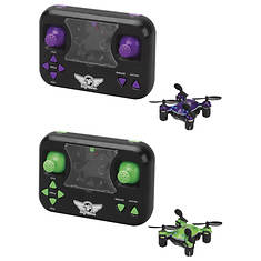 SkyRider 2-Pack Micro Drone