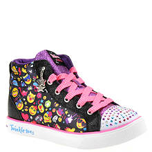 Skechers Twinkle Toes Twinkle Breeze 2.0-Emoji Magi (Girls' Toddler-Youth)
