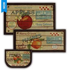 Mohawk Home Fruit Crate 3-Piece Set