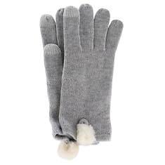 UGG® Women's Smart Glove With Sheepskin Fleece Pom
