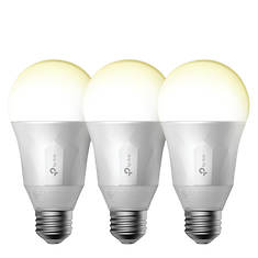 TP-Link 3-Pack Dimmable Smart WiFi Bulbs