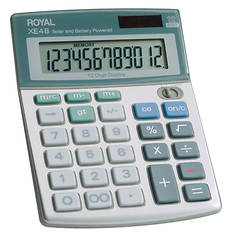 Desk Solar 12-Digit Calculator