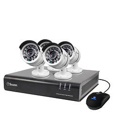 Swann 4-Channel DVR with 4 Cameras