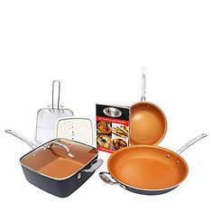 Gotham Steel 7-Piece Cookware Set