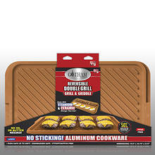 Gotham Steel Extra-Large Reversible Grill/Griddle Pan