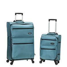 Rockland 2-Piece Lightweight Luggage Set