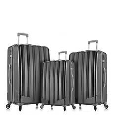 Rockland 3-Piece Luggage Set + 7-Piece Travel Set