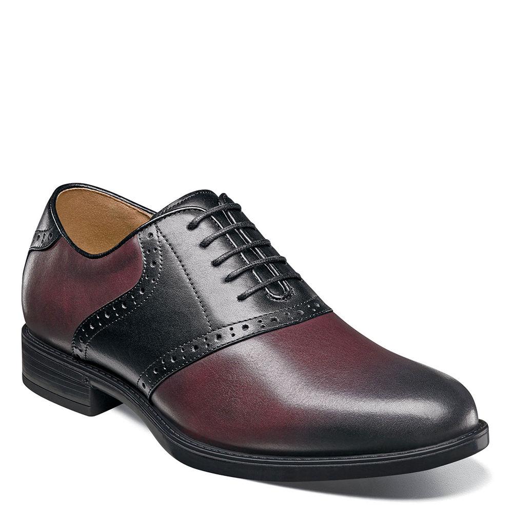 1950s Saddle Shoes – Saddle Oxfords Florsheim Midtown Saddle Oxford Mens Burgundy Oxford 8.5 D $109.95 AT vintagedancer.com