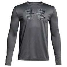Under Armour Boys' Tech Big Logo LS