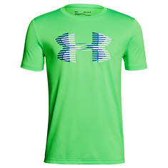 Under Armour Boys' Tech Big Logo Solid Tee