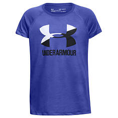 Under Armour Girls' Big Logo Tee