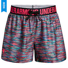 Under Armour Girls' UA Play Up Printed Short