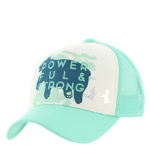 Under Armour Girls' Graphic Trucker Cap