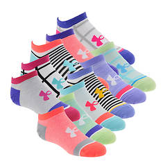 Under Armour Girls' Essential Mix Masters No Show Socks