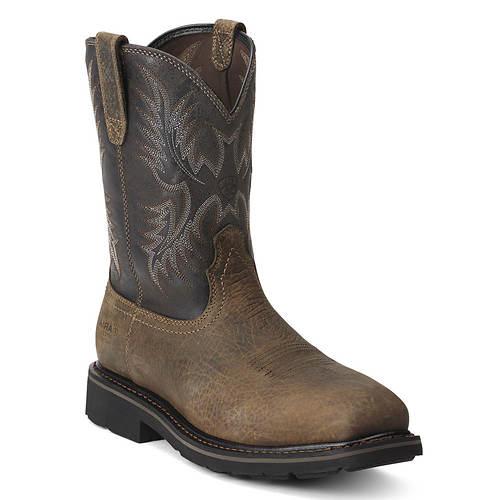 Ariat Sierra Square Toe Puncture-Resistant Steel Toe Work Boot (Men's)