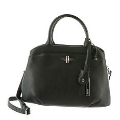 Nine West Viktoria with Turn Lock Satchel