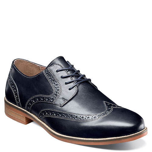 Nunn Bush Charles Wing Tip Oxford (Men's)