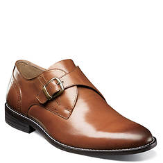 Nunn Bush Sabre Plain Toe Monk Strap (Men's)