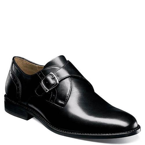 Nunn Bush Sabre Plain Toe Monk Strap (Men's)