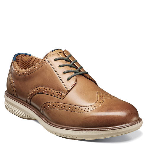 Nunn Bush Maclin St. KORE Wing Tip Ox (Men's)