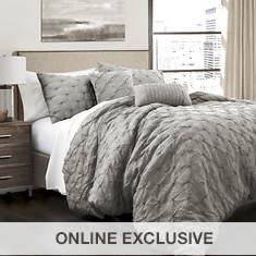 Lush Decor Ravello Pintuck 5-Piece Comforter Set