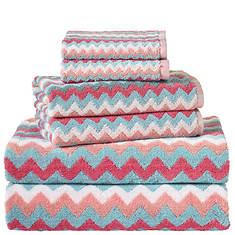 6-Pc. Zig-Zag Towel Set