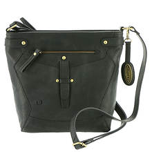 Born Glendale Distressed Tab Crossbody Bag