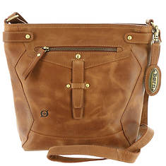 Born Glendale Distressed Tab Crossbody Bag