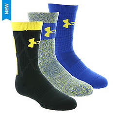 Under Armour Boys' Phenom SC30 2.0 Crew Socks