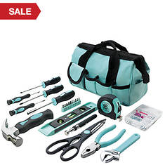 114-Piece Project & Repair Tool Set - Teal