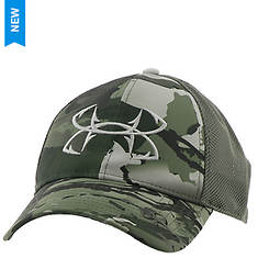 Under Armour Men's Camo Fish Hook 2.0 Cap