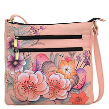 Anna by Anuschka Medium Organizer Crossbody Bag