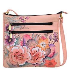 Anna by Anuschka Medium Organizer Crossbody Bag