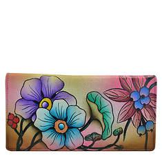 Anna by Anuschka Two Fold Slim Wallet