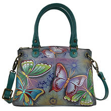 Anna by Anuschka Small Satchel w/Removable Strap