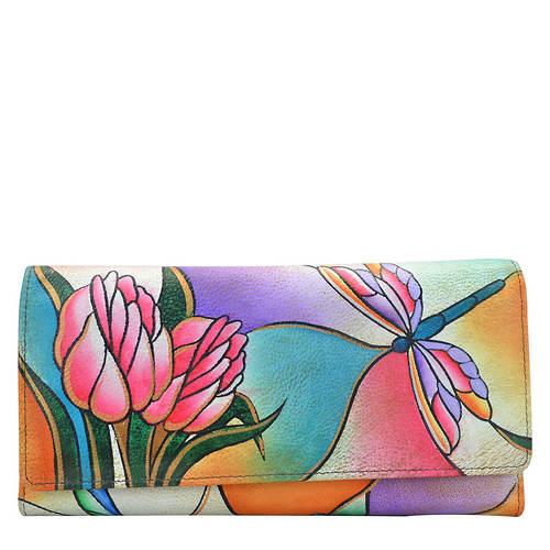 Anna by Anuschka Two-Fold Slim Wallet