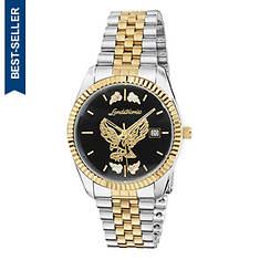 Landstroms Men's Black Hills Gold Eagle Watch