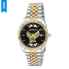 Landstroms Men's Black Hills Gold Two-Tone Eagle Watch