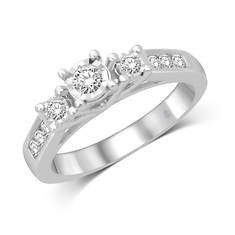 3-Stone Diamond Ring .25 ct. tw.
