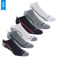 Asics 6-Pack Tech No Show Socks