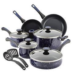 Paula Deen 12-Piece Nonstick Cookware Set