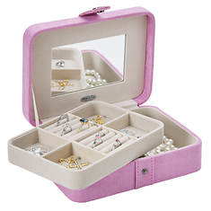 Sueded Jewelry Case