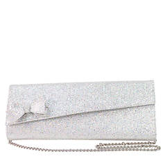 J. Renee Glitter Fabric Clutch
