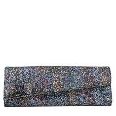 J. Renee Glitter Fabric Clutch