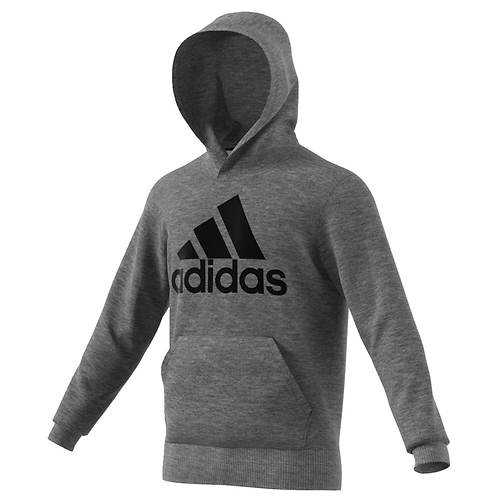 adidas Men's Essentials Linear Pullover Hoodie