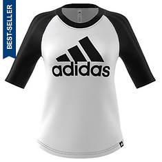 adidas Women's BOS Baseball Tee
